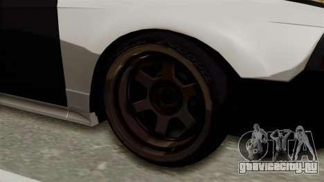 Ford Mustang 1999 Drift для GTA San Andreas вид сзади