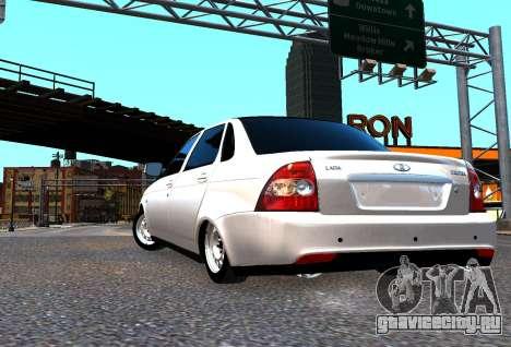 Lada Priora для GTA 4 вид сбоку