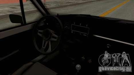 Volkswagen Golf 1 для GTA San Andreas вид изнутри