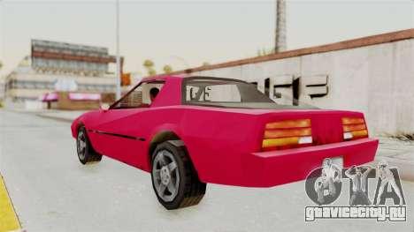 Cammero для GTA San Andreas вид сзади слева