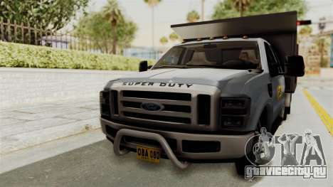 Ford F-350 Super Duty Volqueta для GTA San Andreas