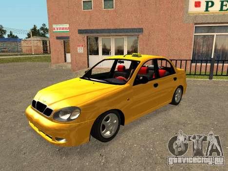 Daewoo Lanos (Sens) 2004 v2.0 by Greedy для GTA San Andreas двигатель