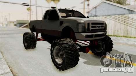 Ford F-350 Super Duty Monster Truck для GTA San Andreas вид слева