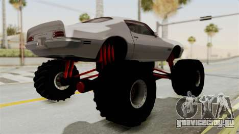 Pontiac Firebird 1970 Monster Truck для GTA San Andreas вид справа
