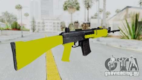 IOFB INSAS Yellow для GTA San Andreas второй скриншот