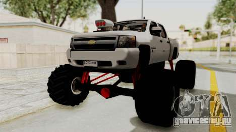 Chevrolet Silverado 2011 Monster Truck для GTA San Andreas