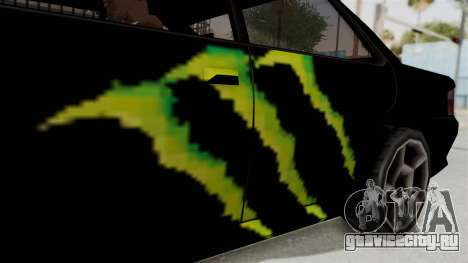Monster Sultan для GTA San Andreas вид сзади