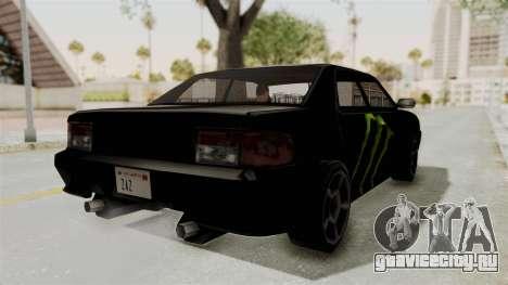 Monster Sultan для GTA San Andreas вид сзади слева