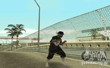 Varios Los Aztecas Gang Member для GTA San Andreas третий скриншот