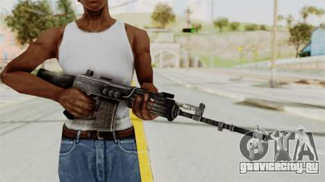 IOFB INSAS Detailed Black Skin для GTA San Andreas третий скриншот
