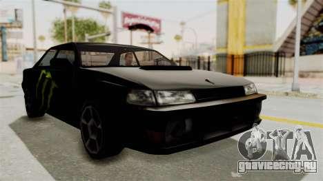 Monster Sultan для GTA San Andreas вид справа