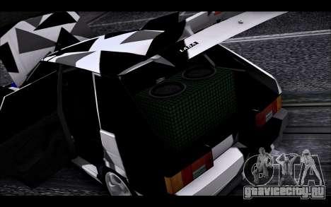 VAZ 2114 Triangle для GTA San Andreas вид сбоку