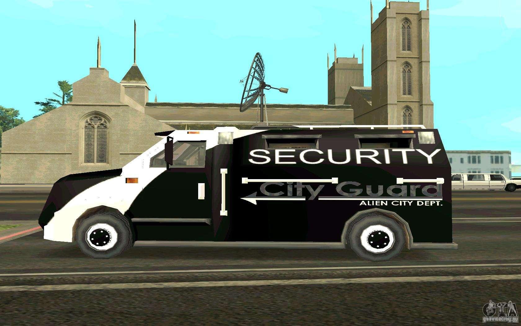 Скачать Фургон для GTA San Andreas