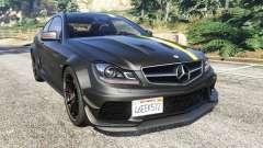 Mercedes-Benz C63 Coupe для GTA 5
