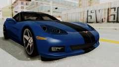 Chevrolet Corvette C6 для GTA San Andreas