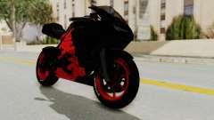 Bati Batik Hellboy Motorcycle v3 для GTA San Andreas