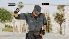 MGSV Phantom Pain Zero Risk Security Combat v2 для GTA San Andreas