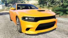 Dodge Charger SRT Hellcat 2015 v1.2 для GTA 5