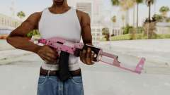 Assault Rifle Pink