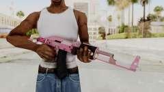 Assault Rifle Pink