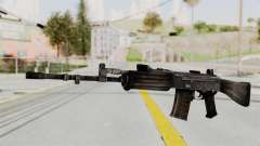 IOFB INSAS Detailed Black Skin для GTA San Andreas