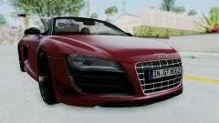 Audi R8 Spyder 2014 LB Work для GTA San Andreas