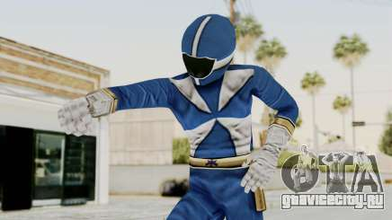 Power Rangers Lightspeed Rescue - Blue для GTA San Andreas