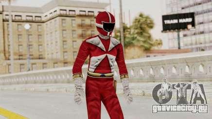 Power Rangers Lightspeed Rescue - Red для GTA San Andreas