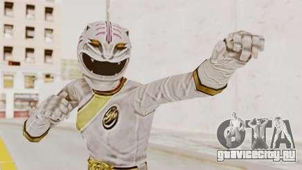 Power Rangers Wild Force - White для GTA San Andreas
