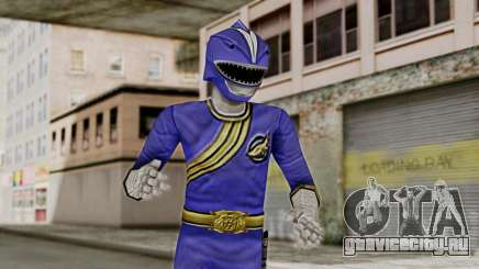 Power Rangers Wild Force - Blue для GTA San Andreas