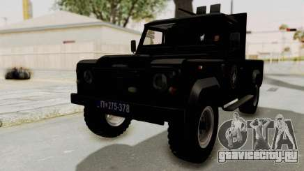Land Rover Defender SAJ для GTA San Andreas