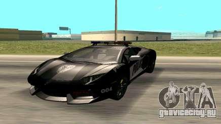 Lamborghini Reventon Police для GTA San Andreas