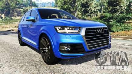 Audi Q7 2015 [rims2] для GTA 5