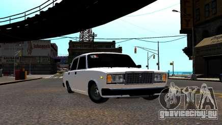 ВАЗ 2107 БПАН для GTA 4