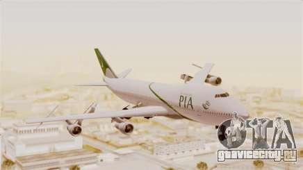 Boeing 747-200 Pakistan International для GTA San Andreas