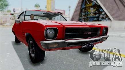 Holden Monaro GTS 1971 AU Plate HQLM для GTA San Andreas