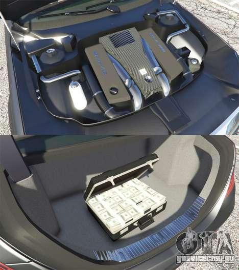 Mercedes-Benz S500 (W222) [michelin] v2.1 для GTA 5 вид справа