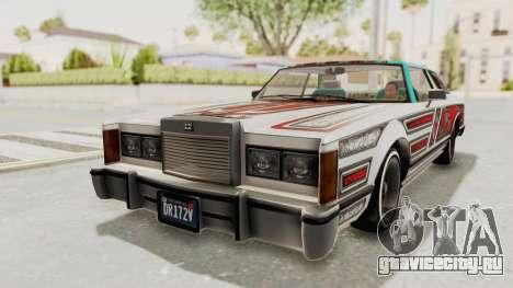 GTA 5 Dundreary Virgo Classic Custom v1 для GTA San Andreas вид изнутри