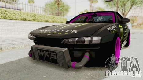 Nissan Silvia S14 Drift Monster Energy Falken для GTA San Andreas