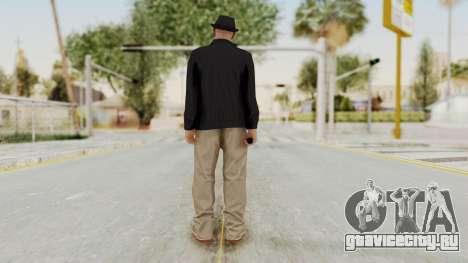 Walter White Heisenberg v1 GTA 5 Style для GTA San Andreas третий скриншот