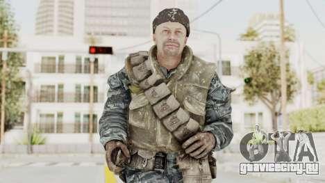 COD BO Russian Spetznas Flak MP v3 для GTA San Andreas