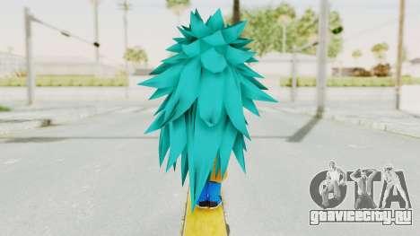 Dragon Ball Xenoverse Gohan Teen DBS SSGSS3 v2 для GTA San Andreas третий скриншот