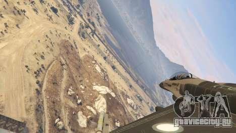 F-16C Block 52 для GTA 5 шестой скриншот