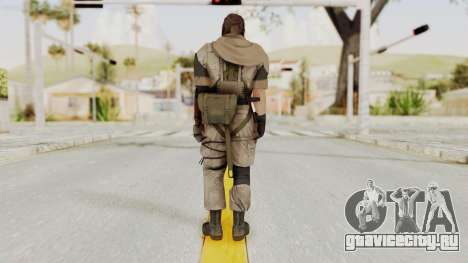 MGSV The Phantom Pain Venom Snake Scarf v3 для GTA San Andreas третий скриншот