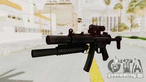MP5SD with Grenade Launcher для GTA San Andreas