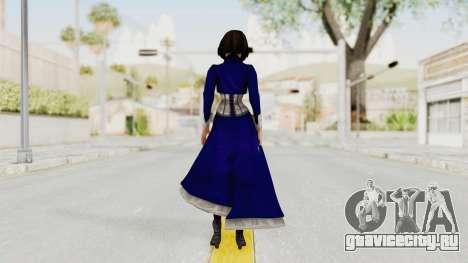 Bioshock Infinite Elizabeth Corset для GTA San Andreas третий скриншот