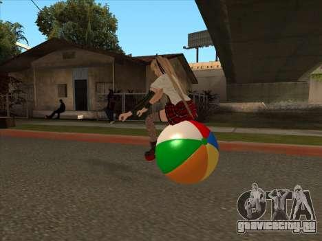 Beachball для GTA San Andreas вид сзади