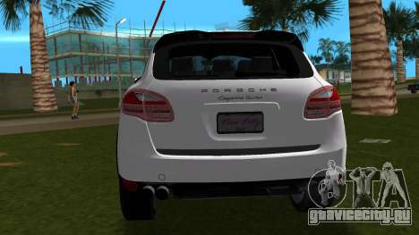 Porsche Cayenne 2012 для GTA Vice City вид справа