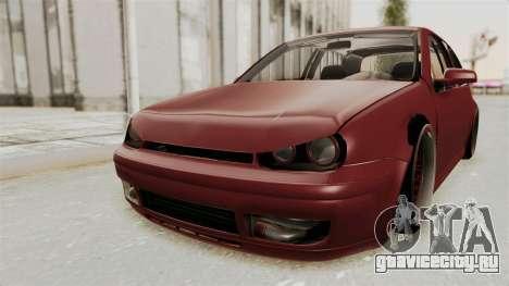 Volkswagen Golf Mk4 V5 Edited для GTA San Andreas