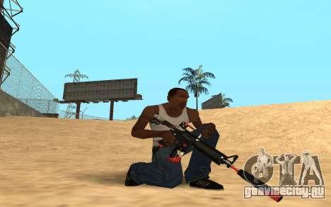 M4 Cyrex для GTA San Andreas второй скриншот
